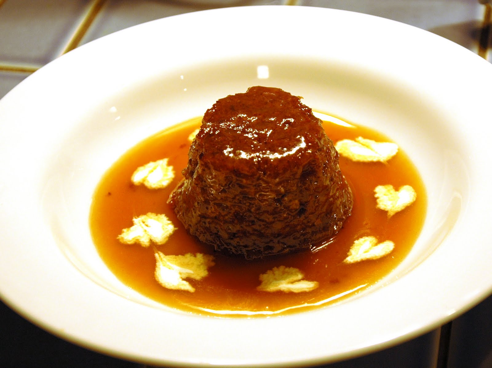 ... into Food: Daring Bakers-Sticky Toffee Pudding worth waiting for