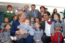 Visita de la Presidenta a la Comuna