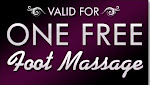 Massagem nos pés gratis / Free foot massage / Kostenlose Massage