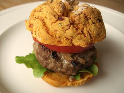 Gluten Free, Dairy Free Herby Beef Burger!