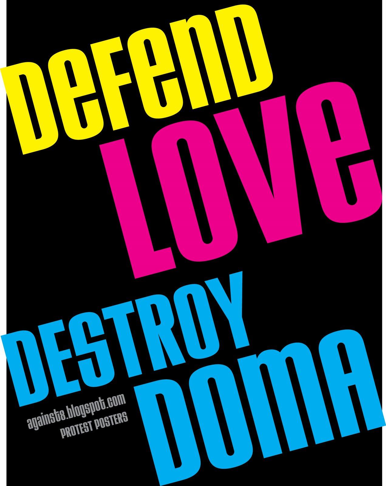 defend love destroy doma prop 8 lisa martinek nude