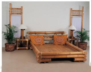 Arte utilitario en metalales bambu y otros materiales - Muebles de bambu ...