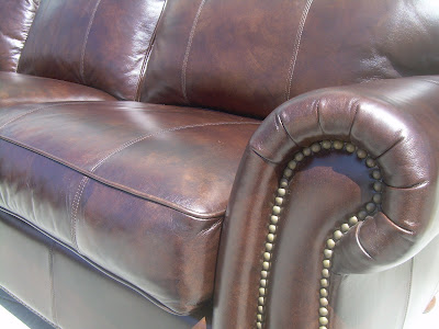 Uhuru Furniture Amp Collectibles Sold Thomasville Leather Sectional Sofa 2400