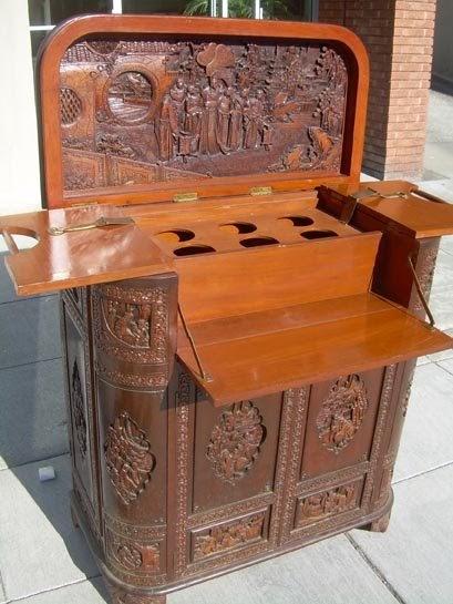 UHURU FURNITURE Amp COLLECTIBLES SOLD Ornate Carved