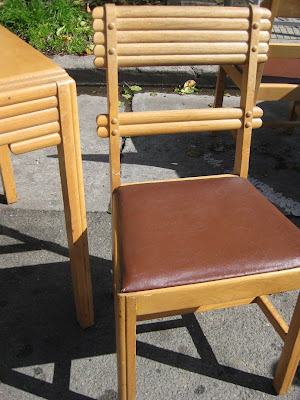 sold   1940s kitchen table   chairs    125 uhuru furniture  u0026 collectibles  sold   1940s kitchen table        rh   uhurufurniture blogspot com