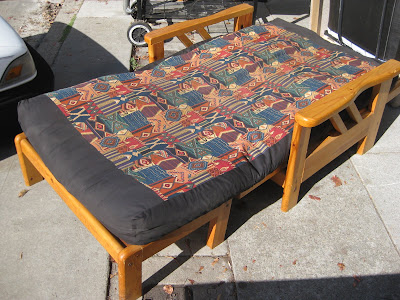 UHURU FURNITURE COLLECTIBLES SOLD Futon Chair Twin Bed 75