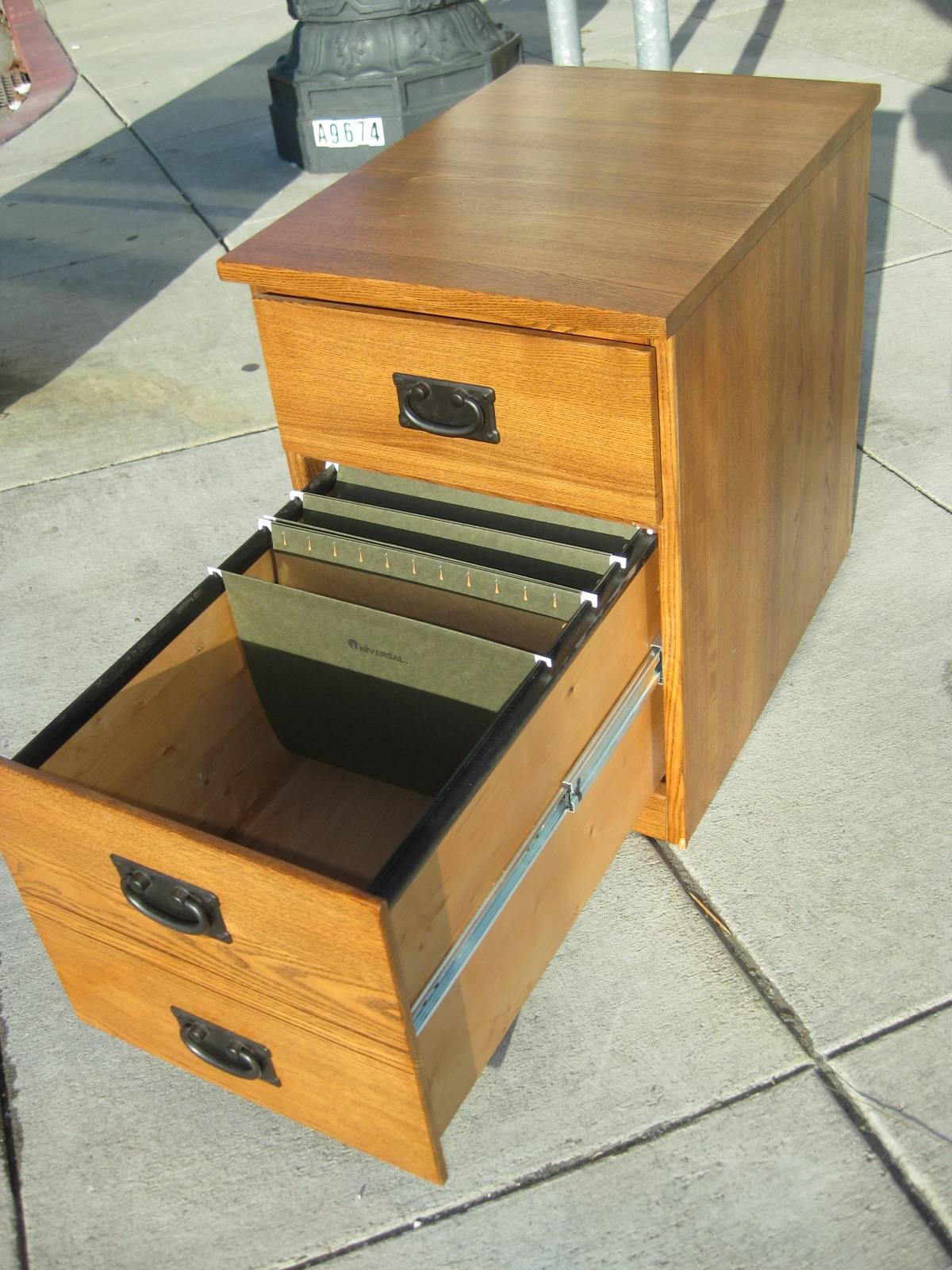 Amazing photo of UHURU FURNITURE & COLLECTIBLES: SOLD 2 Drawer File Cabinet $40 with #BD790E color and 1200x1600 pixels