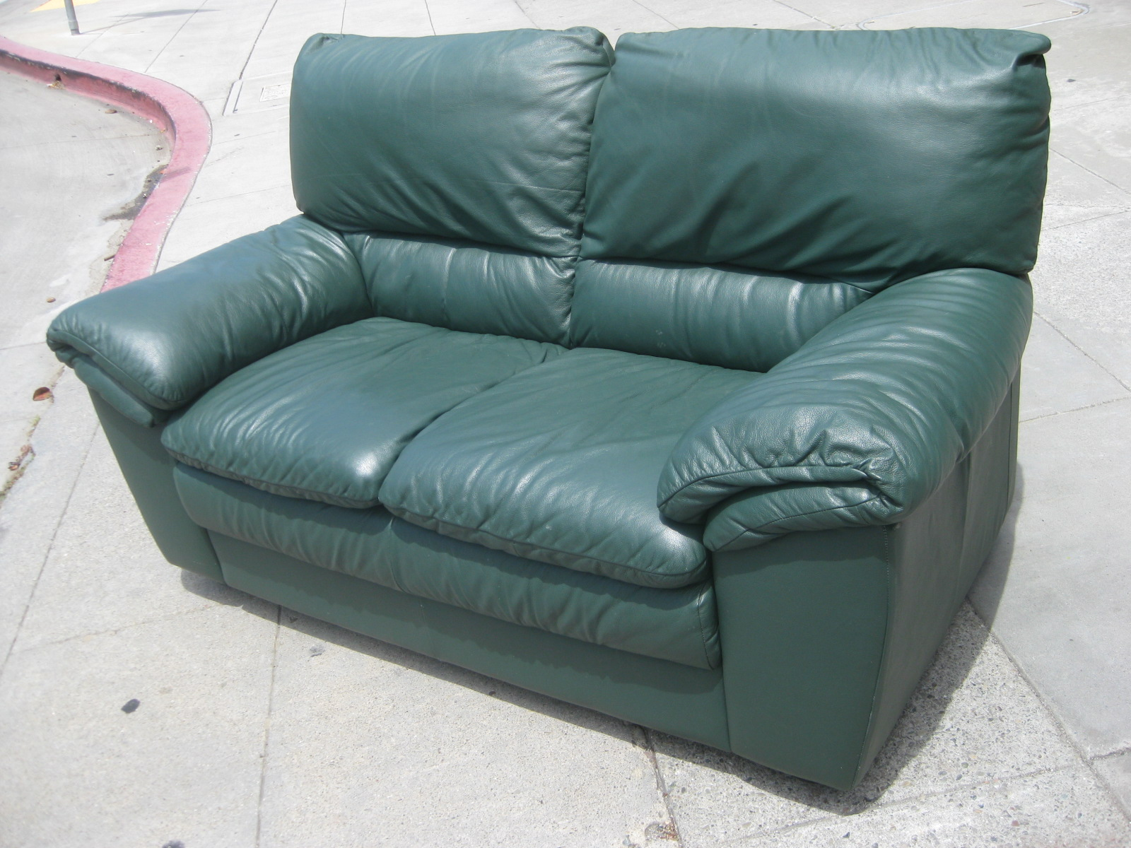 Sold Leather Sofa Loveseat 360