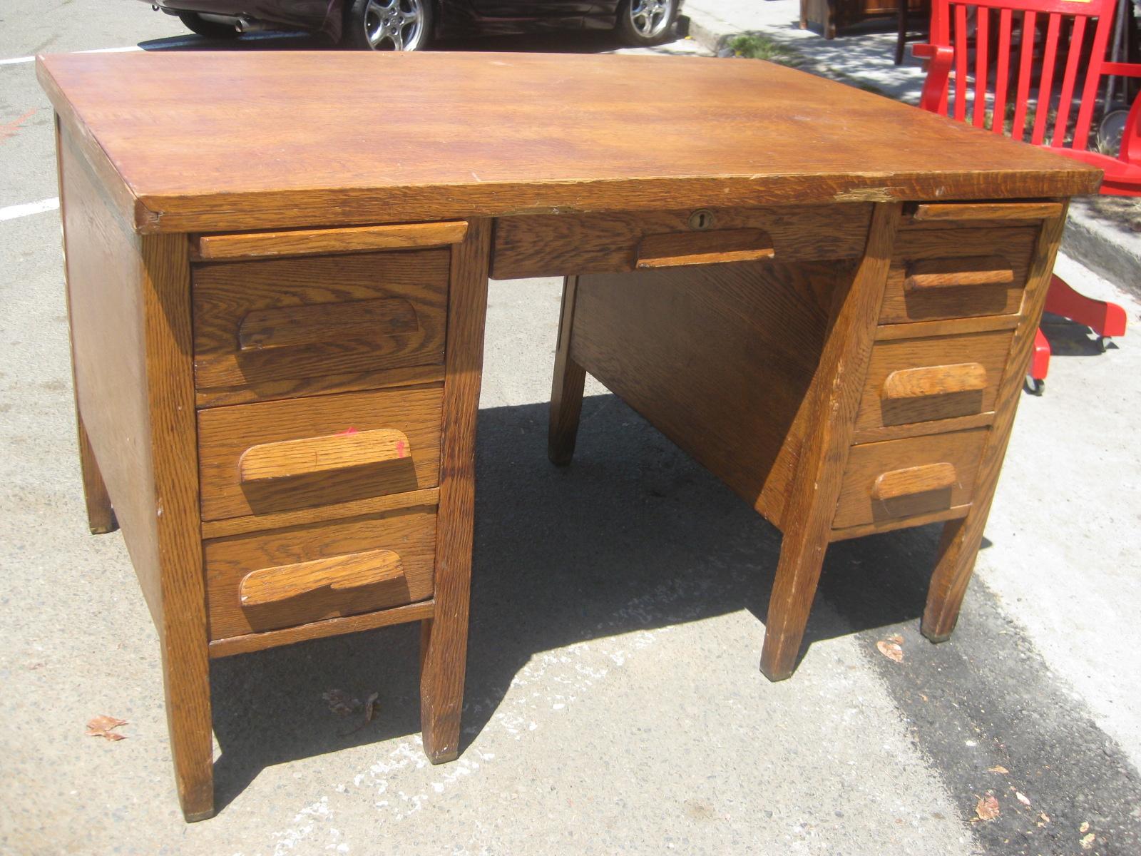 Uhuru furniture collectibles sold oak teacher s desk