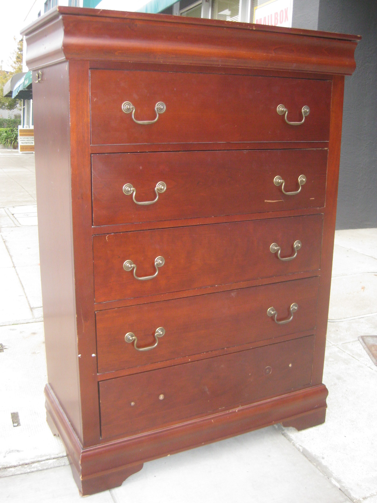 uhuru furniture collectibles sold chest of drawers with jewelry drawer 85. Black Bedroom Furniture Sets. Home Design Ideas