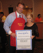 With Jon Runyan (former Eagles player) at Dishes for Wishes