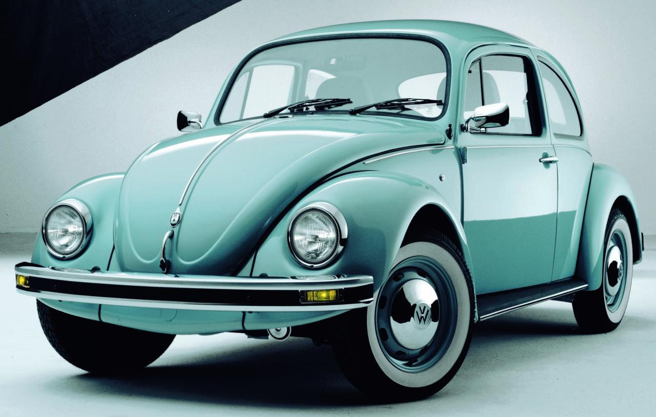 revista coche historia del volkswagen beetle el escarabajo del pueblo