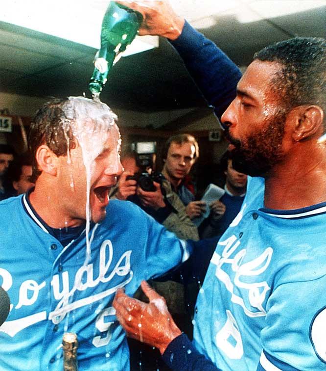 Brett and Wilson celebrate