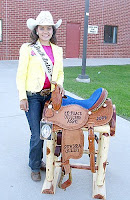 South Dakota High School Rodeo Champ