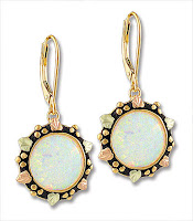 Landstroms Opal Earrings