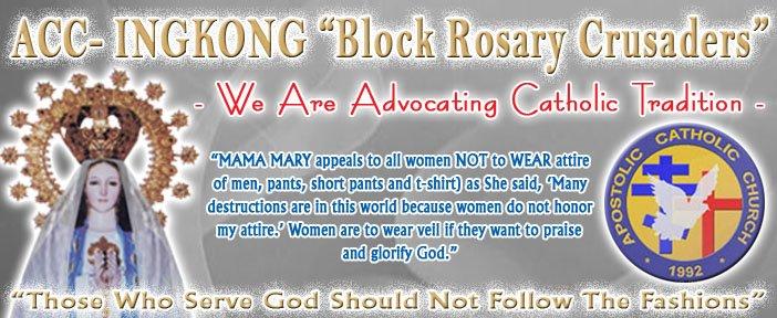 """ACC - INGKONG """"Block Rosary Crusaders"""""""