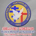 APOSTOLIC CATHOLIC CHURCH - BELOVED INGKONG Block Rosary Crusaders Logo