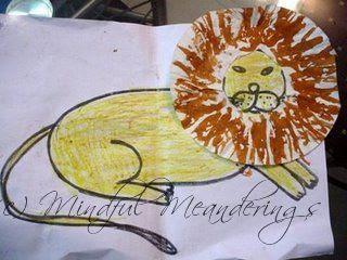 paper plate art for kids