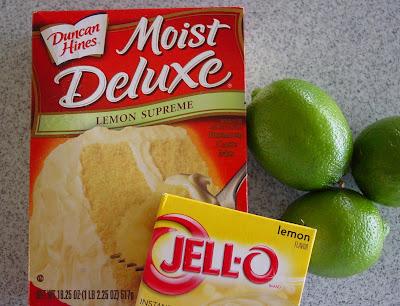 Key Lime Cake Recipe Using Lemon Cake Mix