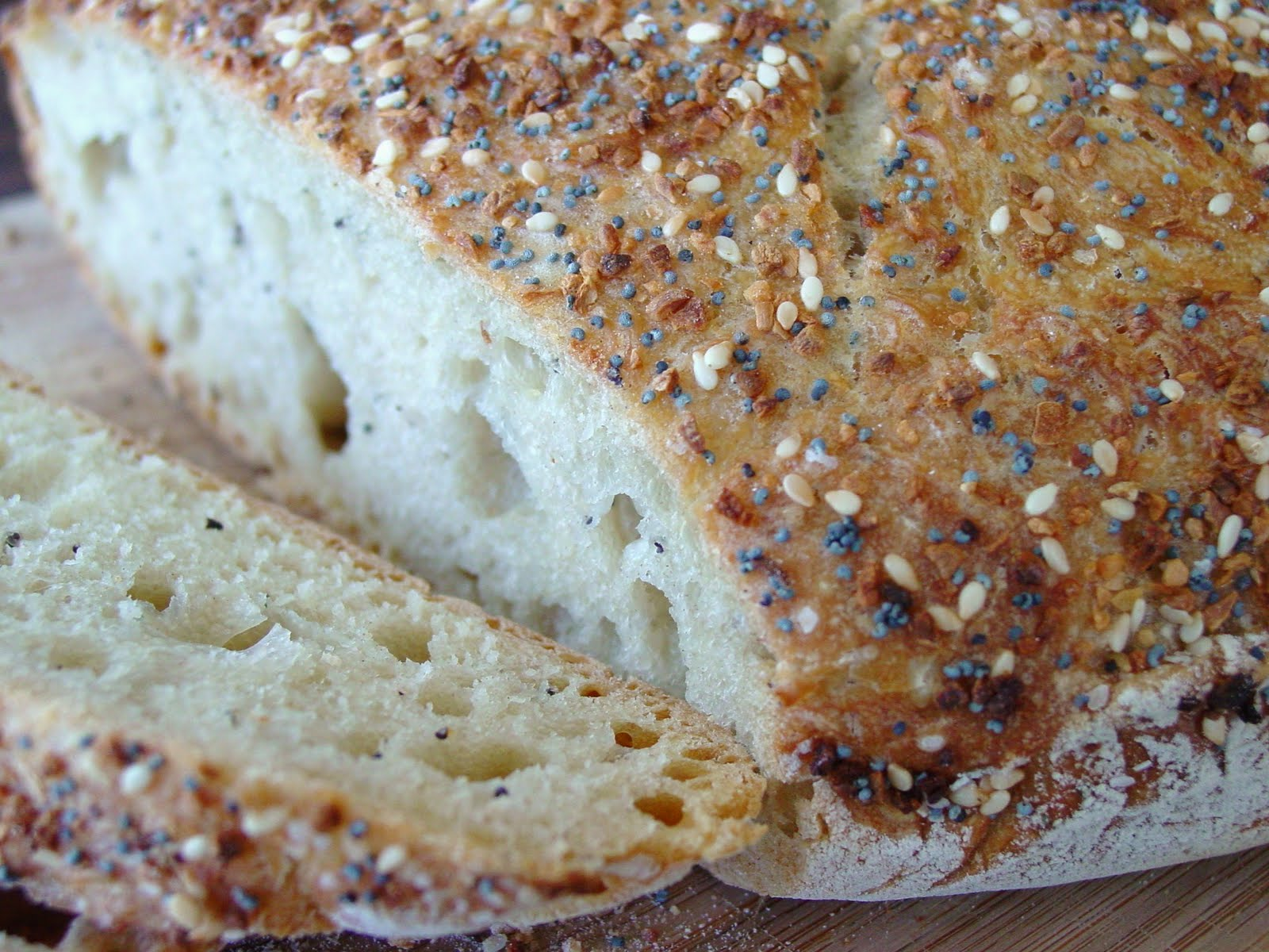 thick crust chewy interior i m talking about no knead bread i ve made ...