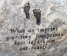Click On The Foorprints To Add Your baby To The Remembrance List
