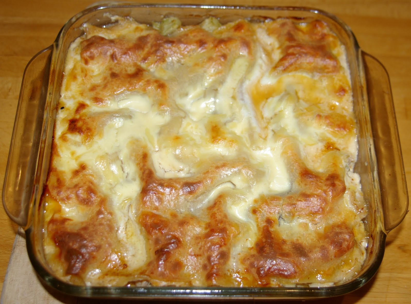 Chicken and Roast Vegetable Lasagne - Cooking for Oscar
