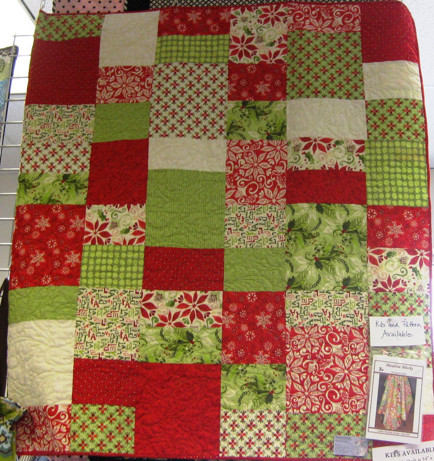 Quilt Patterns With 3 Fabrics : Fabric Mill: September 2010
