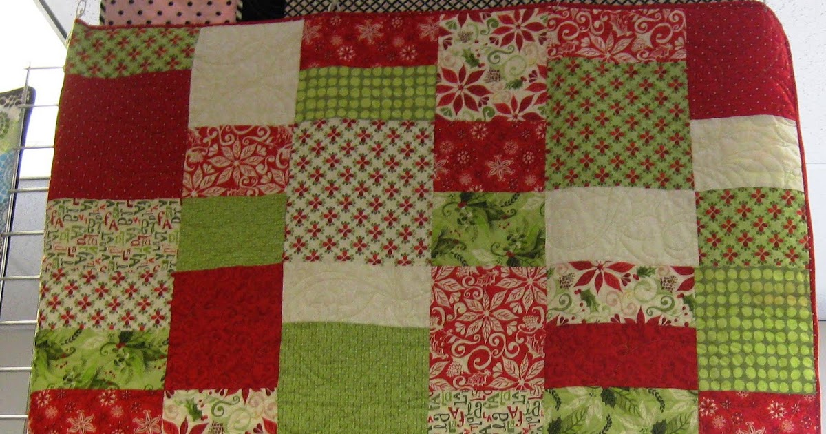Fabric Mill 12 Days Of Christmas Quilt