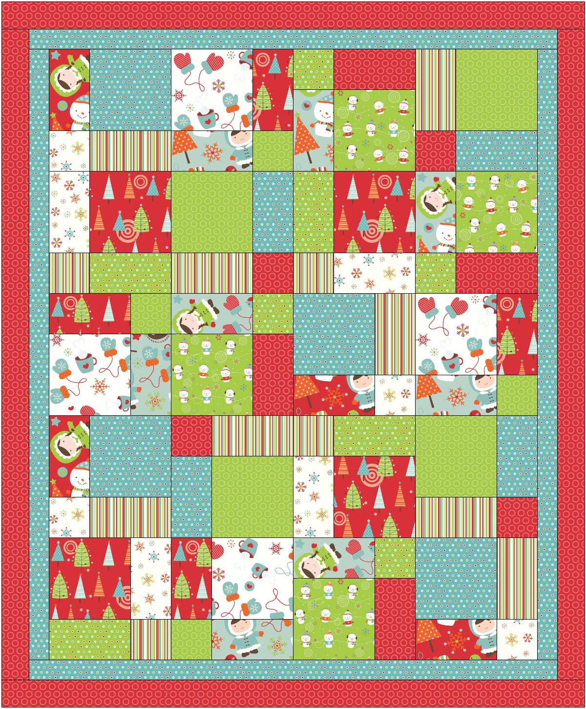 Quilt Patterns For 20 Fat Quarters : Fabric Mill: September 2010