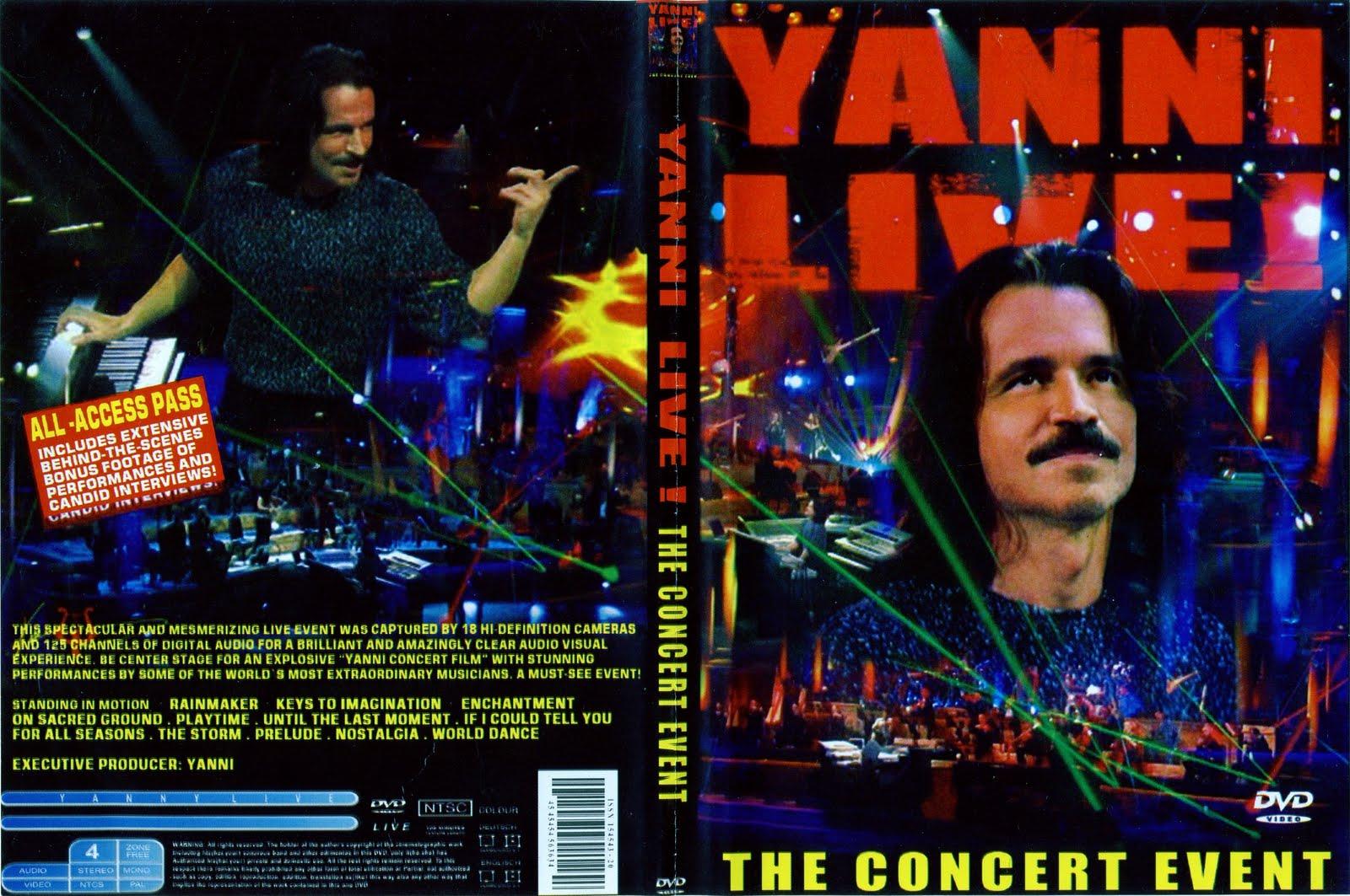 yanni the concert event dvd: