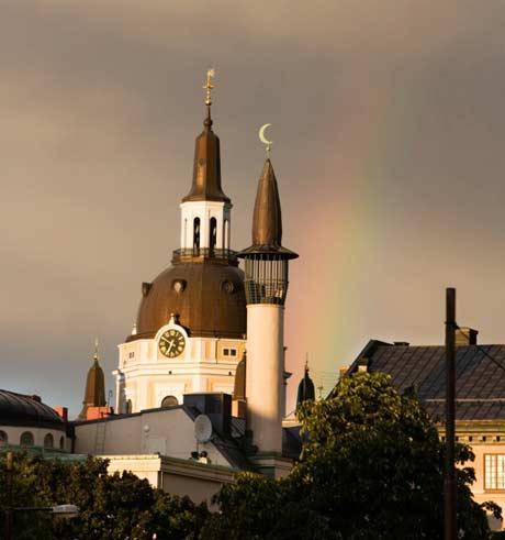 masjid sthocklom, swedia