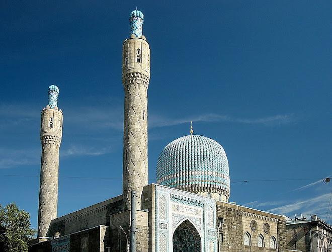 masjid st. peterburg, rusia