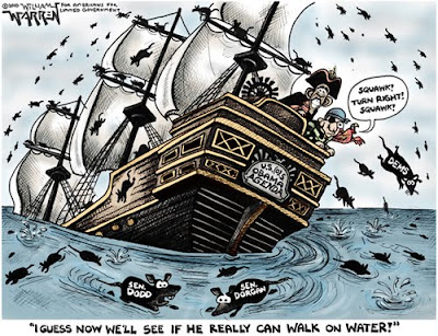 Image result for rats jumping trump ship
