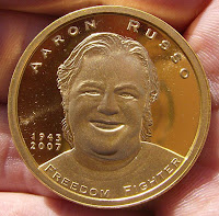 aaron russo, moneta