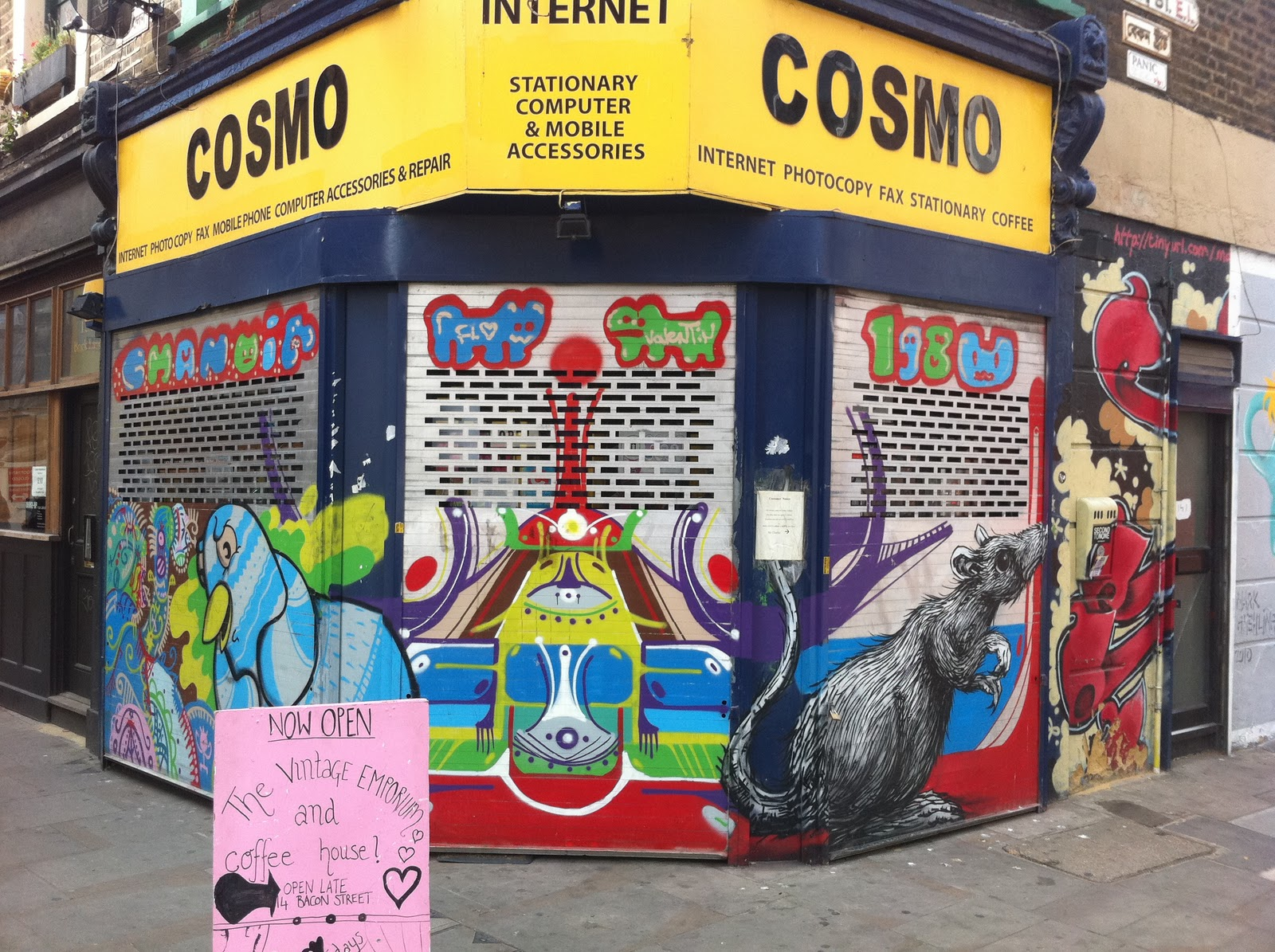 Cosmo Internet Cafe London