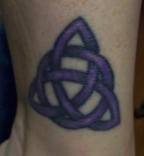 Neopagan ink triquetra for Neo pagan tattoos