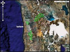 Mapa Interactivo de Áreas Silvestres Protegidas de la Región de Tarapacá