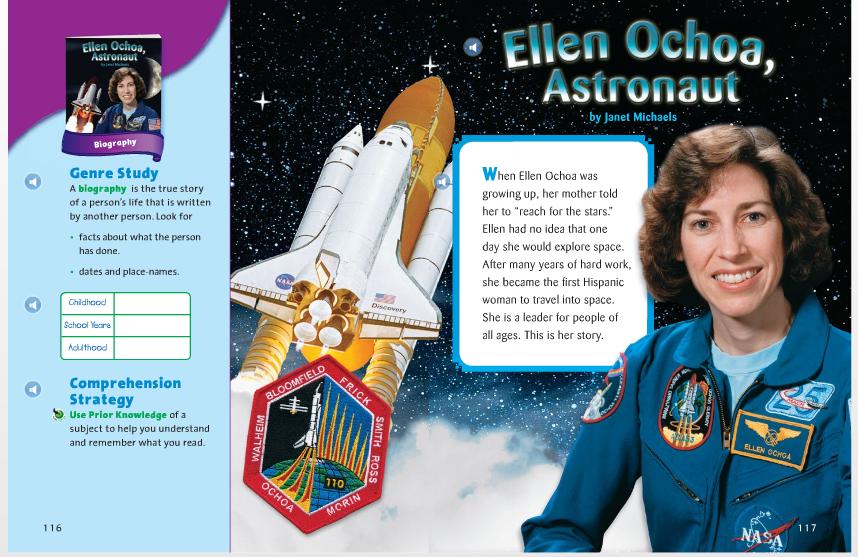3rd Grade Ridgeway Stars: Ellen Ochoa, Astronaut