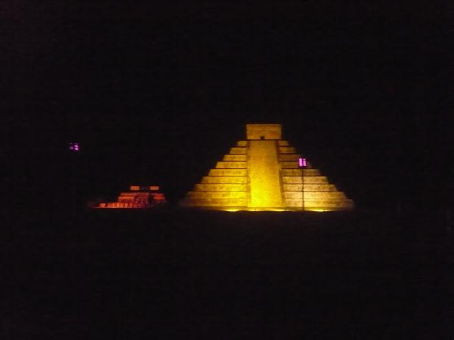luces et sonido piramide chicchen itza