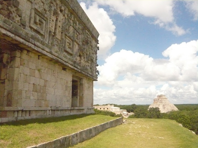UXMAL Jaguar priestess lost maya city