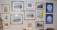 Akvarell, akryl og foto