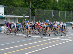 Carrier Park race in Asheville.  Look closely to see Marco in the thick of things