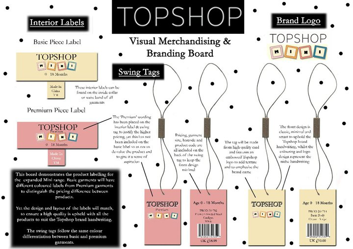 topshop branding strategy Zara's marketing strategy posted on september 16, 2011 by conrad chan the fashion company zara has a marketing strategy that is quite unique zara only spends.