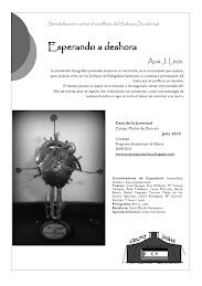 """EXPOSICIÓN FOTOGRAFICA  """"ESPERANDO A DESHORA"""""""
