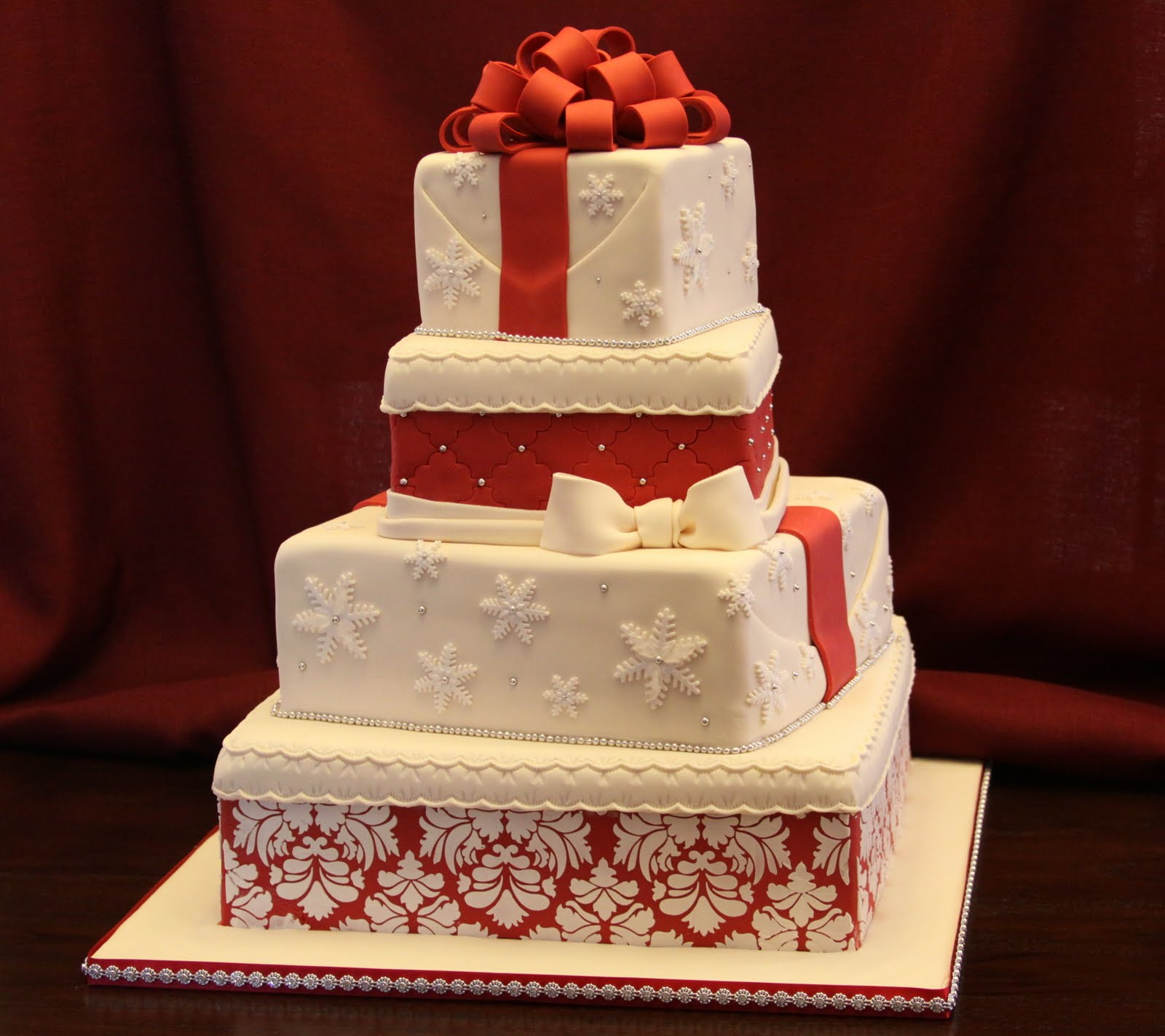 A Christmas Wedding: .: Christmas Wedding C Ake