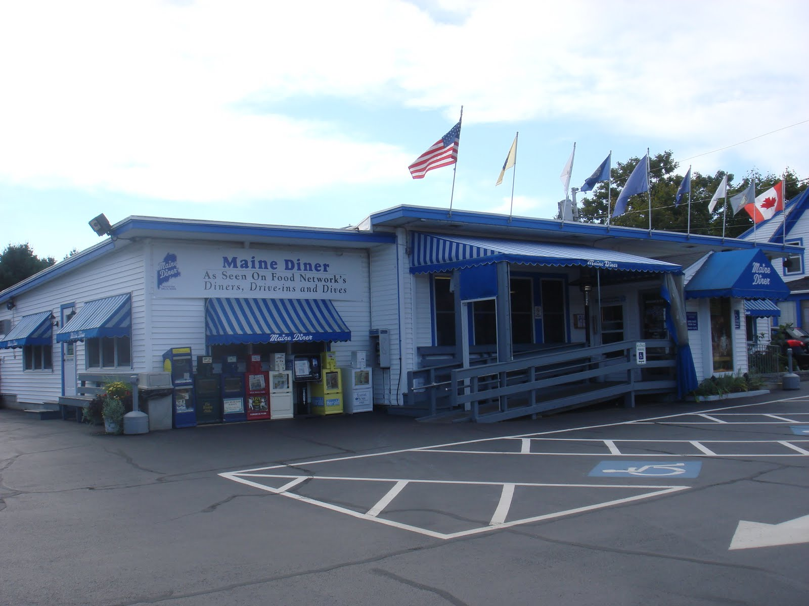 Ogunquit Beach Inn, & other adventures....: Maine Diner