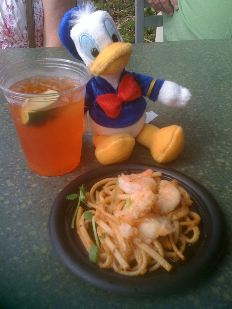 My Disney Mania: Black Pepper Shrimp with Sichuan Noodles ...