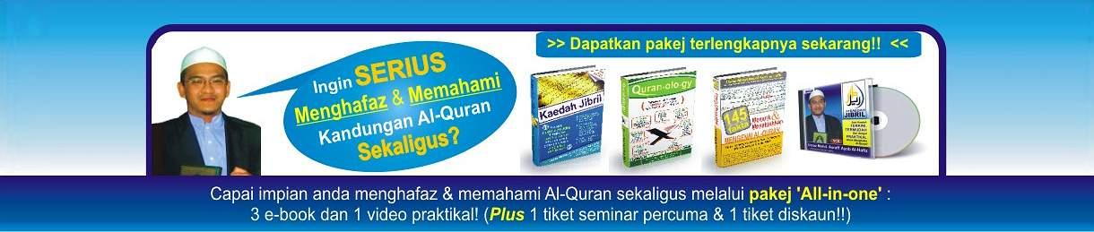 """""""Tentu ramai yang ingin tahu teknik termudah untuk FAHAMI & HAFAL Al-Quran"""""""