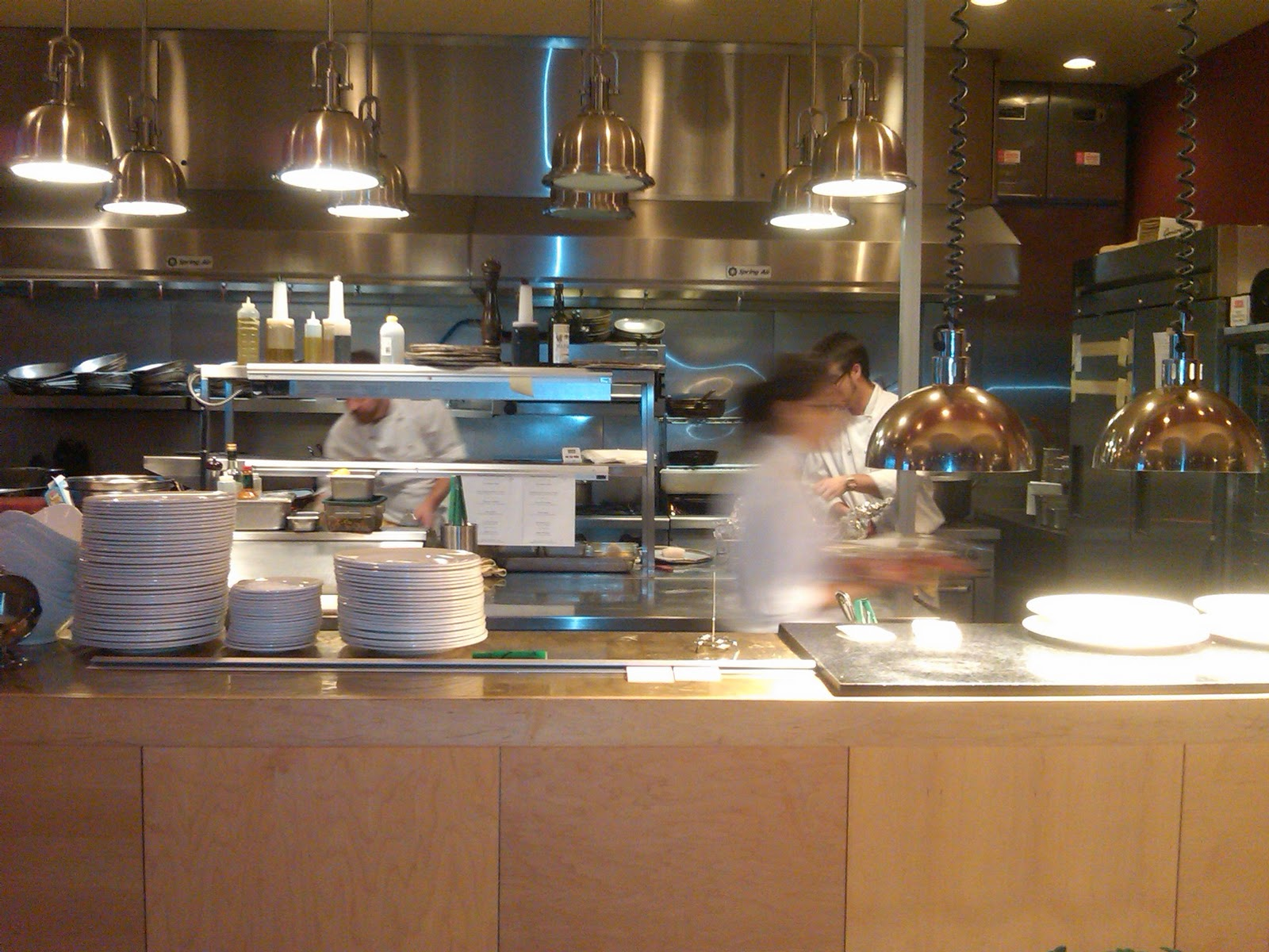 Perfect Restaurant Kitchen View Counter In Stainless Steel On