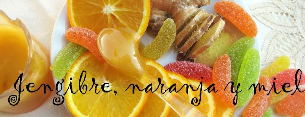 Jengibre, naranja y miel